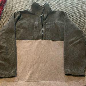 Tommy fleece pullover/jacket
